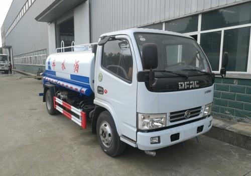 东风D6福瑞卡5吨洒水车价格