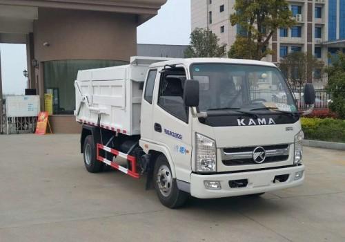 凯马4吨压缩对接式垃圾车