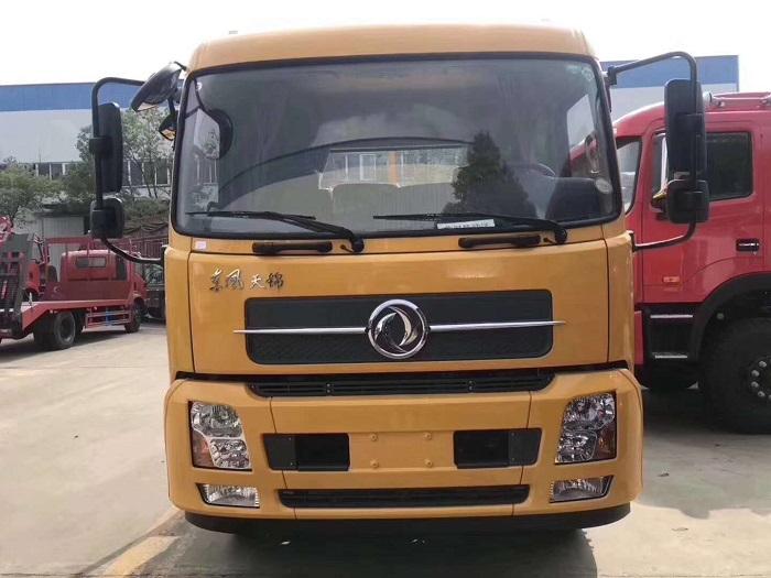 程力东风天锦单桥平板运输车图片