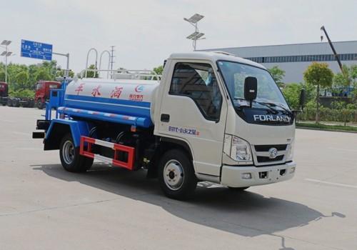 福田小卡2吨-3吨洒水车图片