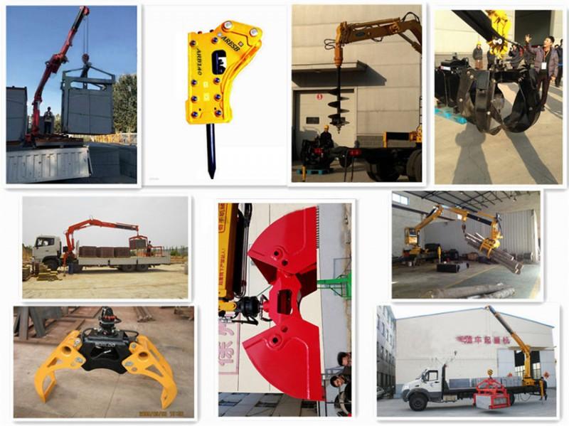 东风专底12吨随车吊加装工具图
