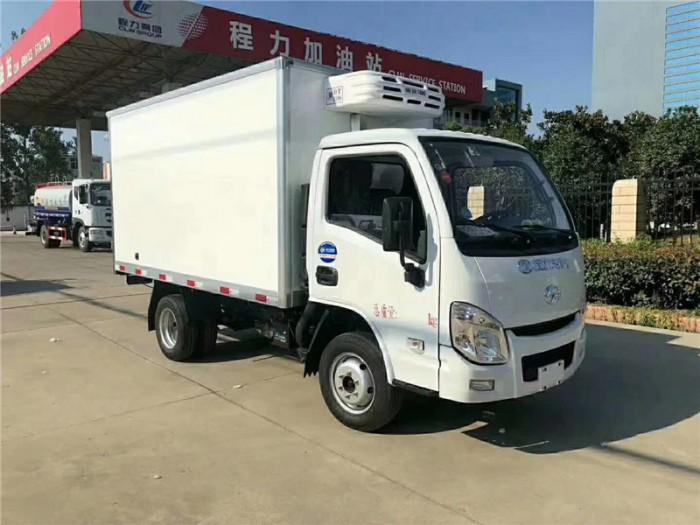 跃进小福星3.2米冷藏车