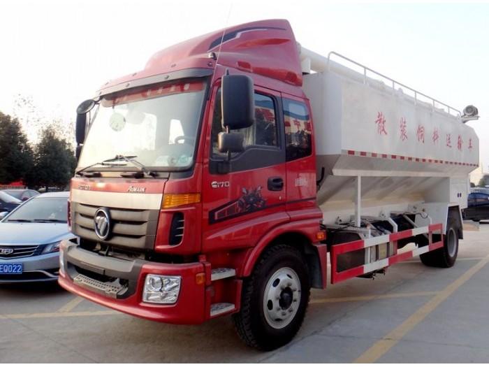 福田欧马可10吨饲料运输车