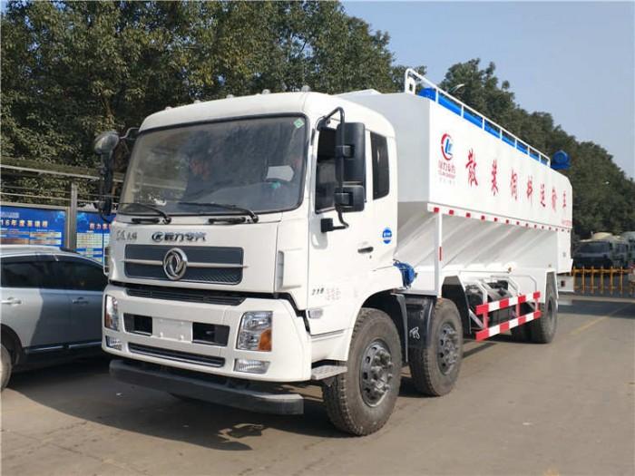 15吨东风散装饲料运输车
