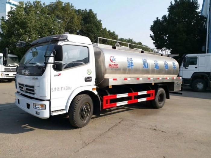 东风大多利卡8吨鲜奶运输车