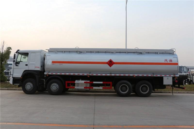 程力重汽前四后八30方加油车运油车图片