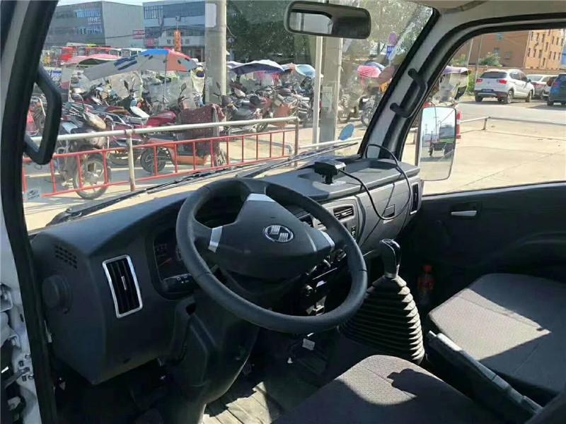 3.5米小型冷藏车驾驶室方向盘图