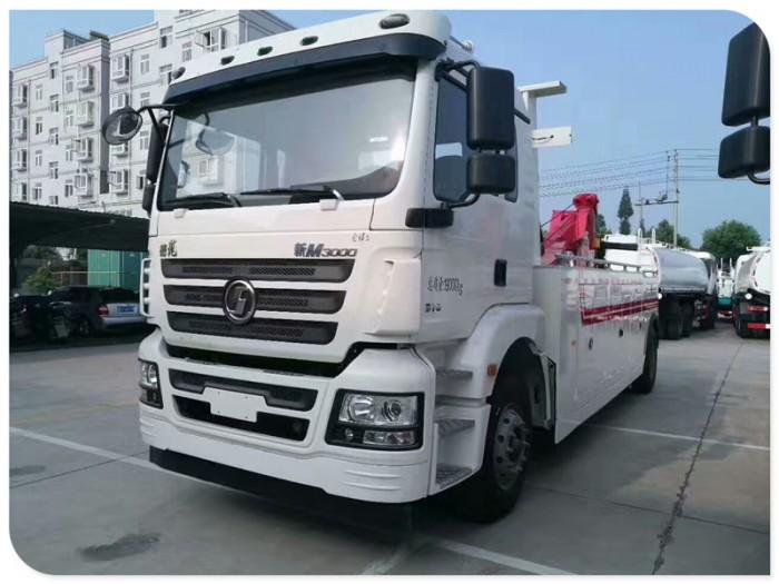 陕汽30吨重型清障车