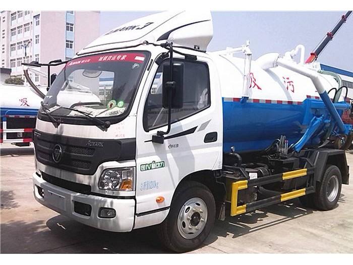 6吨福田吸污车