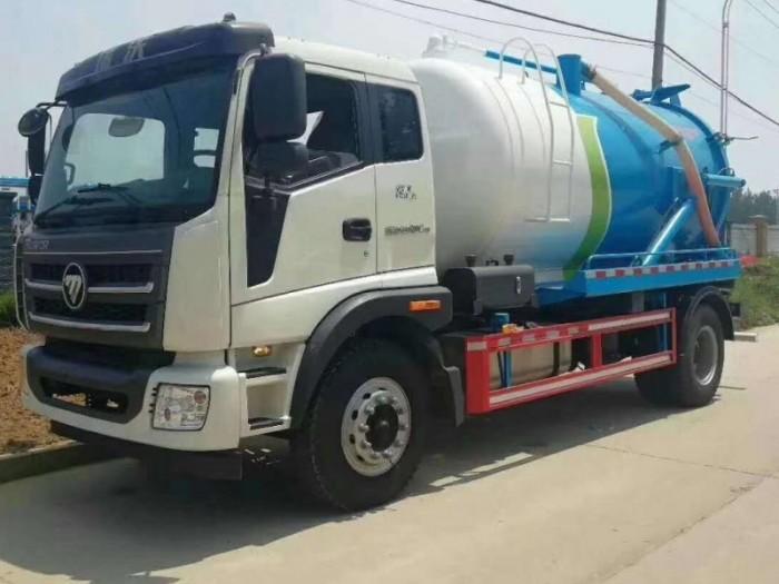 12吨福田吸污车