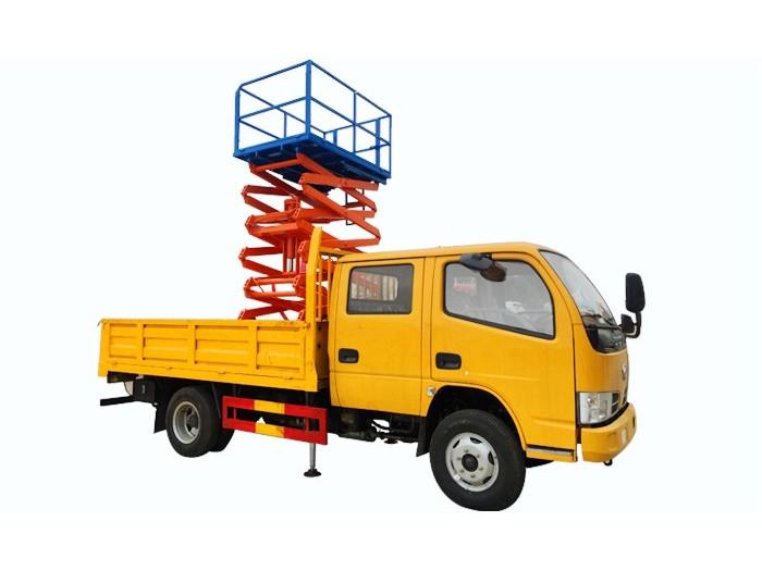 东风小多利卡剪叉式垂直升降车(6-10米)