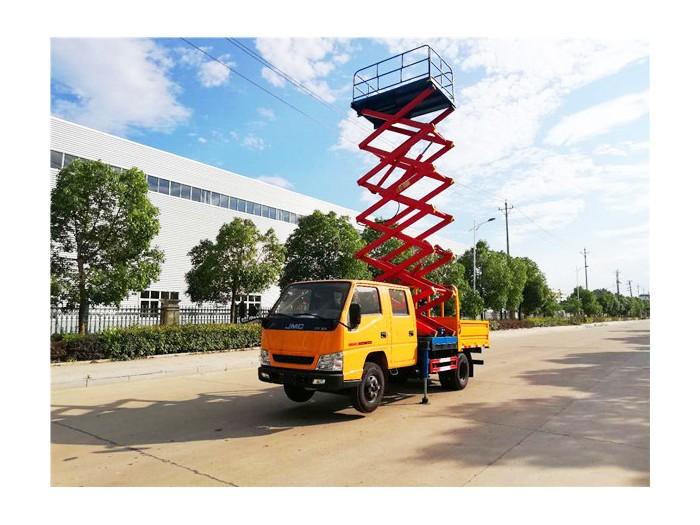 江铃8-10米升降平台车