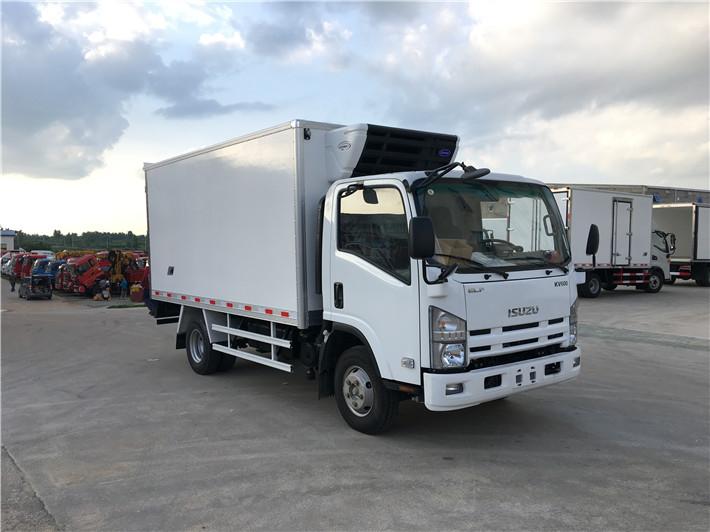 庆铃kv600,4.2米冷藏车