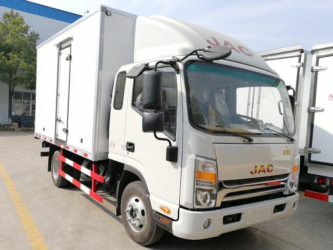 江淮V5一排半3.7米冷藏车