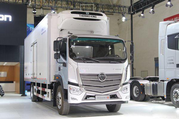 福田S5大型9.6米冷藏车