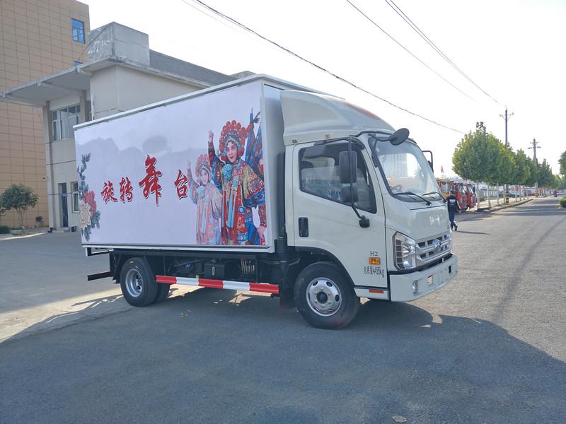 福田康瑞H2蓝牌流动舞台车图片