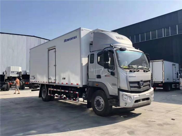 福田瑞沃国六6.8米冷藏车
