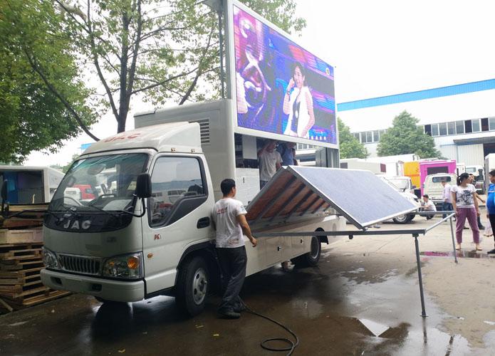 江淮康铃LED广告宣传车图片