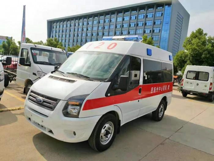 江玲全顺V348短轴监护型救护车