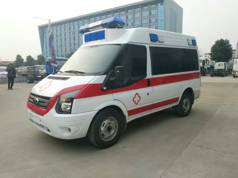 福特新世代V348短軸柴油運輸型救護車