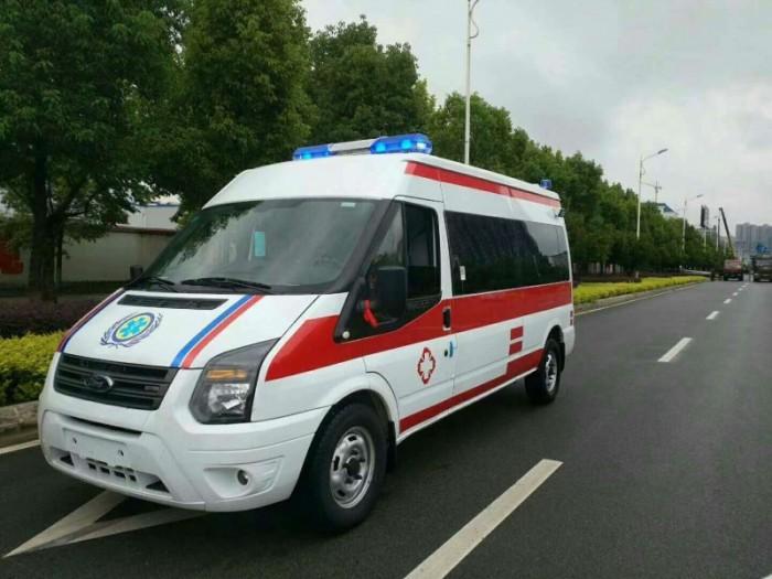新世代V348长轴中顶监护型救护车