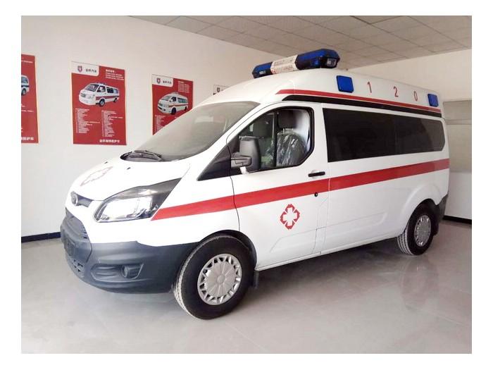 新全顺V362短轴监护型救护车