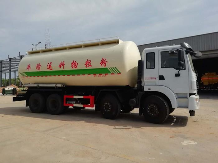 东风30方粉粒物料运输车