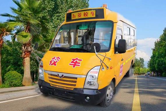 五菱19座幼儿园校车(柴油)
