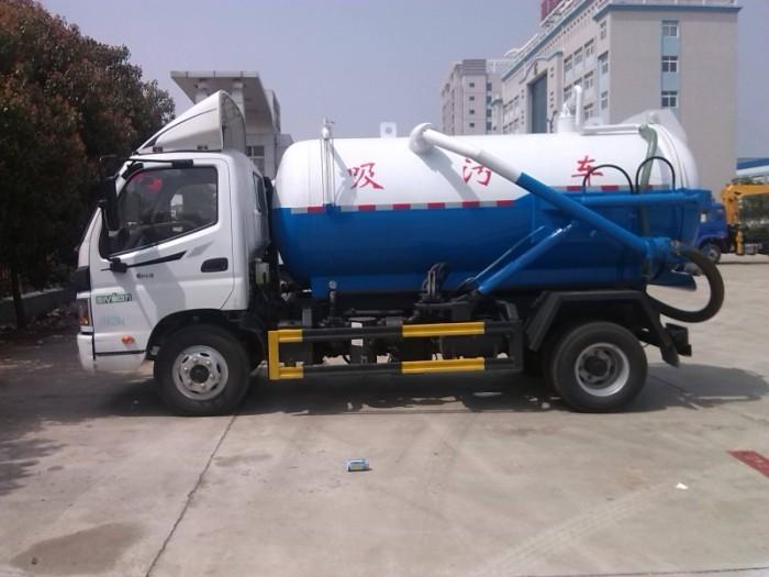 8吨福田吸污车