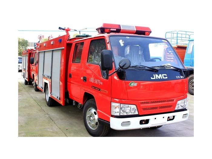 江铃2-3吨水灌消防车