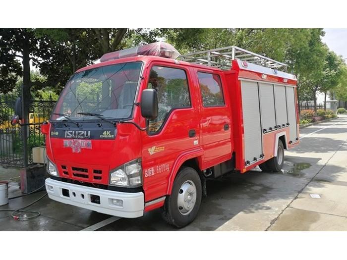 庆铃3-4吨水灌消防车