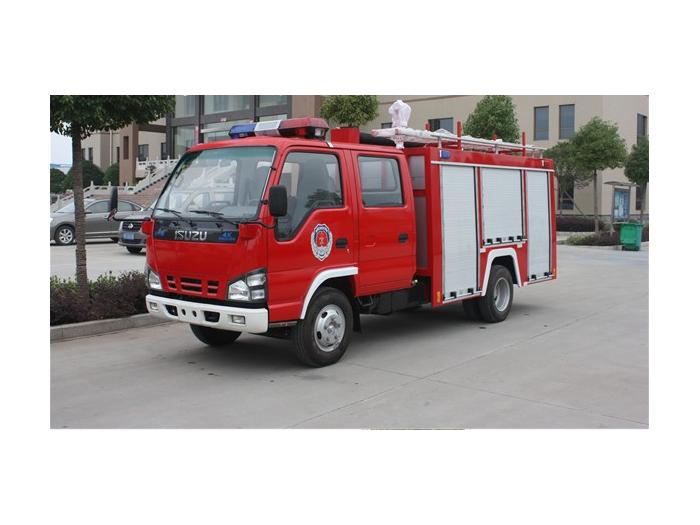五十铃2-3吨小型水罐消防车