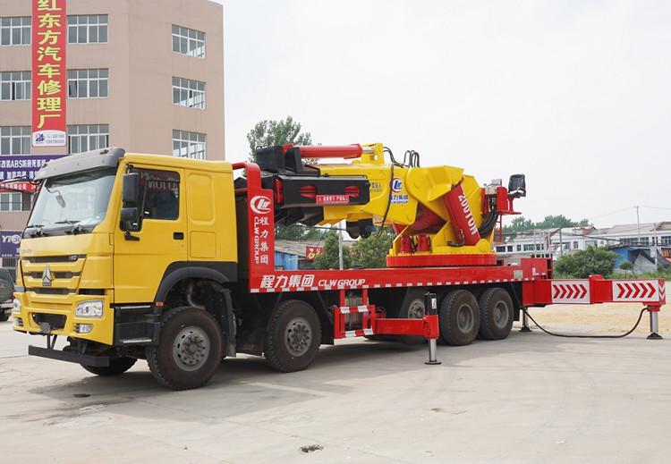 程力150吨汽车起重机,
