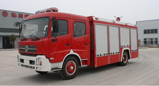 东风145消防车5-6吨水罐