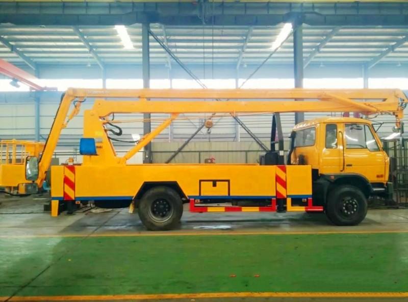 东风153型高空作业车(20
