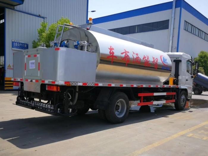 陕汽10吨进口沥青洒布车