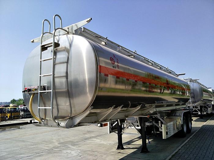 铝合金30吨半挂油罐车