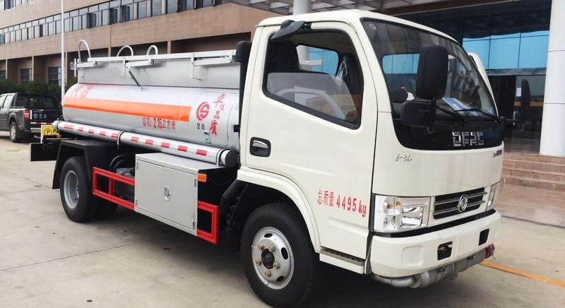 Dongfeng 2 cbm classical tanker truck