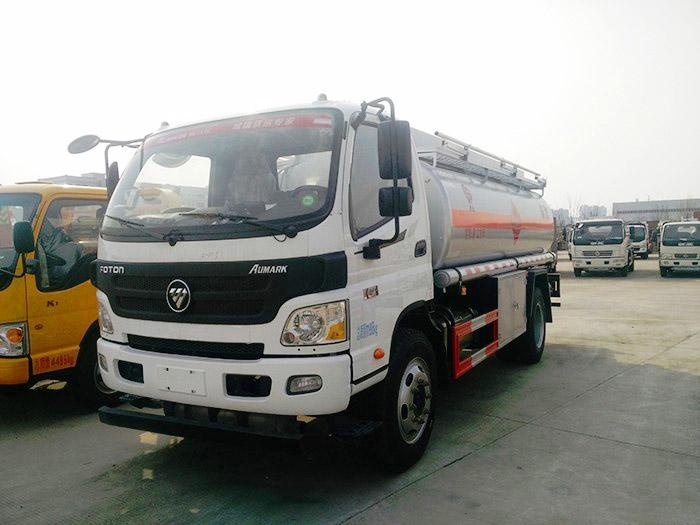 Foton Aumark 8 cbm fuel trucks