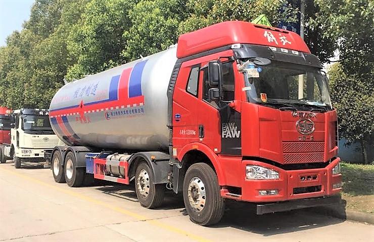 一汽解放石油液化气运输车