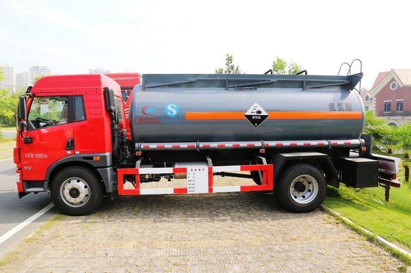 解放龙V化工液体运输车