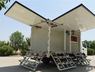 不明飞行物奥驰在适当的时候发射了自己的轻卡售货车-奥驰售货车