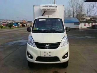 国六福田祥菱小型冷藏车告诉你关于冷藏车的年检小知识